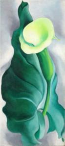 Calla Lily (Lily-Yellow No. 2) Georgia O'Keefe 1927